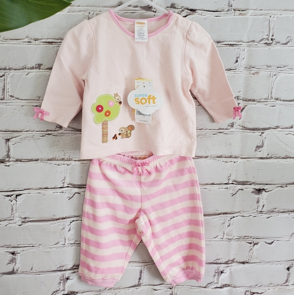 NWT Super Cozy Gymboree Woodland Set NEW